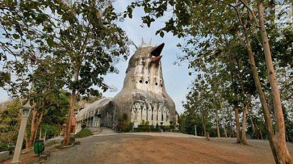 gereja ayam bukit rema